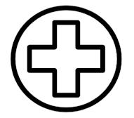Λευκός σταυρός.